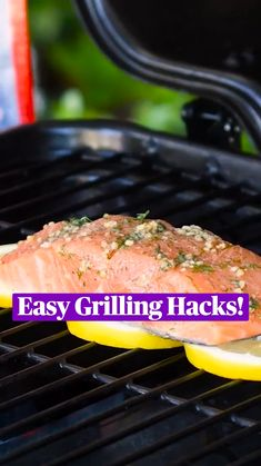 Grilling Tips, Grilling Recipes, Cooking Recipes, Healthy Recipes, Salmon Recipes, Seafood Recipes, Appetizer Recipes, Appetizers, Diy Food