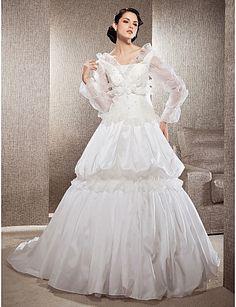 Modelos de Vestidos de Novia Sencillos Largos - Para Más Información Ingresa en: http://vestidosdenoviaeconomicos.com/modelos-de-vestidos-de-novia-sencillos-largos/