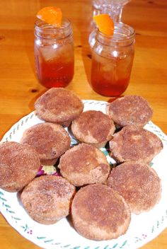 Recipes for Cinnamon Muffins and Orange Spice Iced Tea