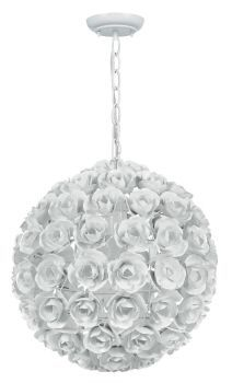 Buy your Cypress White Wrought Iron Rose Chandelier by Crystorama here. Light up your girl's bedroom or nursery with the sophistication of Crystorama's Cypress White Wrought Iron Rose Chandelier! Eclectic Chandeliers, Wrought Iron Chandeliers, Transitional Chandeliers, Mini Chandelier, Chandelier Lighting, Flower Chandelier, Painted Chandelier, Vintage Space, Globe Pendant