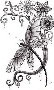Image result for neo traditional dragonfly tattoos