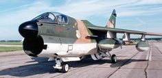 Ling-Temco-Vought A-7 Corsair II, carrier-capable subsonic light attack aircraft. First flight 1965