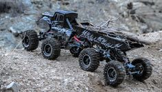 Exceed RC 1/8 Scale Mad Torque 8x8 Crawler 2.4ghz Ready to Run