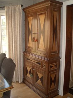 custom cabinet by Mike O'Brien