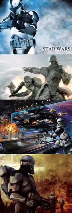 Clone Trooper | No matter how you change it, a soldier is still a soldier...