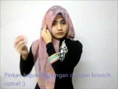 ... Style n Tutorial on Pinterest   Hijab tutorial, Hijabs and Matte satin
