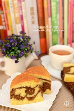香草咖啡牛油蛋糕 Vanilla and Coffee Butter Cake