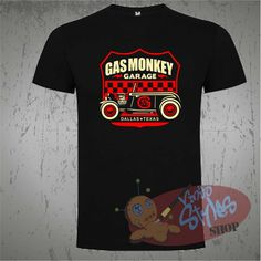 Officially Licensed Gas Monkey Garage GYSOT T-Shirt S-XXL Sizes