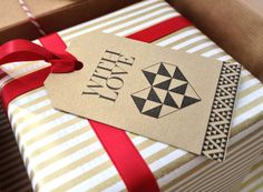 Gift-Luxe Christmas Gift Tags - Paperknots