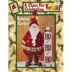 A Claus For Celebration 2 Christmas Tole Painting Patterns Ornaments Elves etc