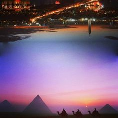 Cairo Visit Egypt, Cairo, Celestial, Mountains, Sunset, Nature, Travel, Outdoor, Outdoors