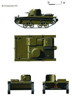 Т-38  выпуска 1936 г