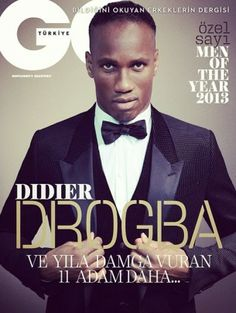 The Gossip Wrap-Up!: Coverin' It: Didier Drogba, Kenan . Cool Magazine, Magazine Covers, The Special One, My Silence, Uefa Champions, Sheepskin Coat, Fashion Mag, Gq Style, Black Card