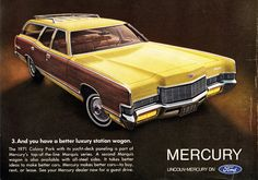1971 Mercury Colony Park Station Wagon