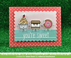 Hello and welcome to Lawn Fawn's Valentine's release week! On December 14th our 3 new stamp sets, 7 new die sets, 5 new cardstock colors ...