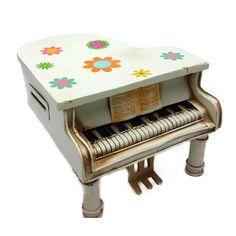 ΚΟΥΜΠΑΡΑΣ ΠΙΑΝΟ ΜΙΝΙΑΤΟΥΡΑ ΚΩΔΙΚΟΣ:sou-44-1738 Piano, Stool, Retro, Furniture, Collection, Home Decor, Decoration Home, Room Decor, Pianos