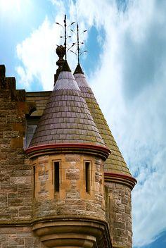 Belfast Castle Turret - Belfast Northern Ireland.