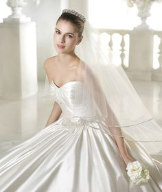 Soleil wedding dress from the Glamour 2015 - St Patrick collection | St. Patrick