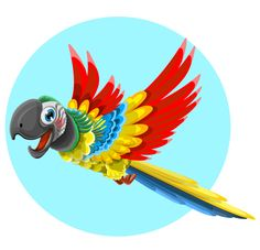 Cute Free Vector Parrot Character designed in a sweet and charming style. If you need an expressive and attractive illustration to make your artworks more attractive, just have a look at this cute parrot. Continue reading →