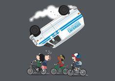 Stranger Peanuts Stranger Things T-Shirt