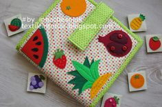 textileinterior: fruits and vegetables memory