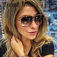 Nice 2017 Men Brand Designer Vintage Pilot Sun Glasses for Male Oversized Shades Retro Female Steampunk Sunglasses Gafas Oculos - Buy it Now!