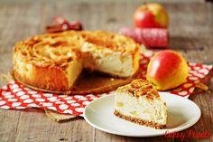 Sernik z ricotty z jabłkami/ Eric Lanlard' Ricotta Cheesecake with Apples #sernik #cheesecake #ricottacheesecake #ericlanlard