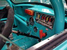 Inside of a sports mini Mini Cooper S, Classic Mini, Classic Cars, Minis, Race Engines, Morris Minor, Truck Interior, Top Cars, Modified Cars