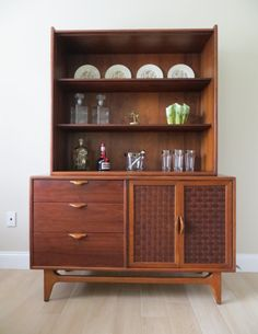 RESERVED Mid Century Modern Perception Credenza Sideboard Buffet Server And  Hutch By Lane (2