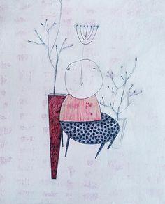 Jewish wall art, jewish art painting, jewish original art, jewish home decor, modern, Seven branched, menorah jewish art, jewish art gift