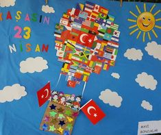 Okulöncesi 23 Nisan Etkinlikleri | OkulÖncesi Sanat ve Fen Etkinlikleri Paylaşım Sitesi