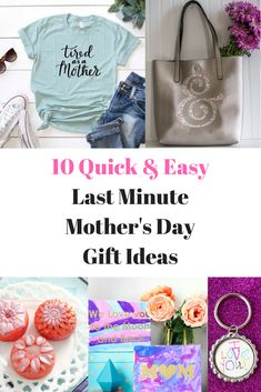 10 Quick & Easy Last Minute Mother's Day Gifts - Everyday Party Magazine