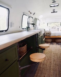 23 Brilliant RV Living Space Saving Ideas 23 Brilliant RV Living Space Saving Ideas Outdoordecorsm Outdoordecorsm RV s Astounding 23 Brilliant RV Living Space Saving Ideas outdoordecorsm co While nbsp hellip life storage ideas Bus Living, Tiny House Living, Living Spaces, Airstream Renovation, Airstream Interior, Vintage Airstream, Vintage Caravans, Vintage Campers, Rv Interior Remodel