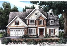 Abercrombie - Home Plans and House Plans by Frank Betz Associates