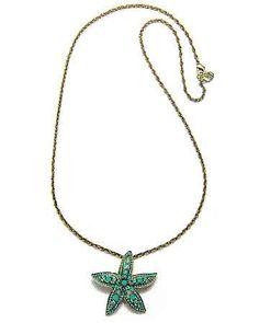 Tommy Bahama - Spring Sky Starfish Pendant Necklace