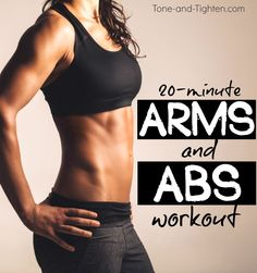 20 Minute Arms and Abs Dumbbell Workout