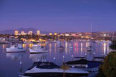 Bay and city lights...
