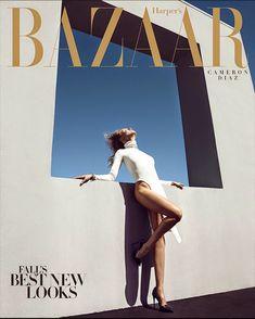 Harpers Bazaar US August 2014 | Cameron Diaz by Camilla Akrans