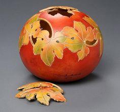 Gourd 5—Grape leaves