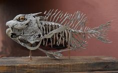 Risultati immagini per tony fredriksson art Driftwood Fish, Driftwood Wall Art, Driftwood Sculpture, Fish Sculpture, Driftwood Crafts, Seashell Crafts, Norwegian Wood, Fish Art, Beach Art