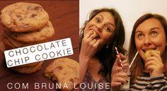 Chocolate Chip Cookies com Bruna Louise - Confissões de uma Doceira Amadora