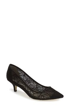Adrianna Papell 'Lois' Mesh Pump (Women) available at #Nordstrom