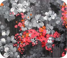 Vintage Floral Print via Keyka Lou