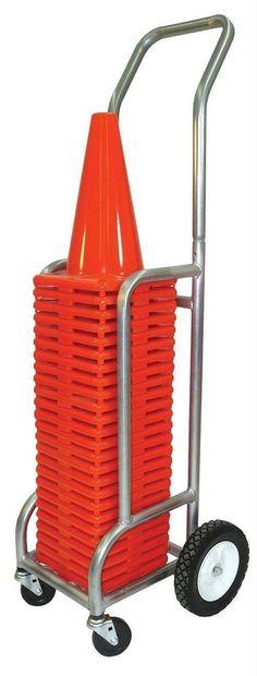 Single EZ-Roll Cone Cart