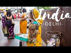 India Travel Vlog: Delhi - YouTube  I need to watch it before I live