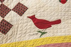 Outstanding 1855 Clermont Co., Ohio Friendship Quilt : Lot 100