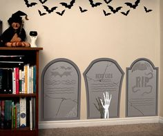 Gravestone Halloween Decorations