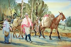 Adele, Holi, Painting, Art, Bullock Cart, Horses, Paisajes, Paintings, Animales