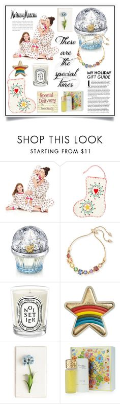 """""""The Holiday Wish List With Neiman Marcus: Contest Entry"""" by ewa-naukowicz-wojcik ❤ liked on Polyvore featuring Bed Head by TIGI, Neiman Marcus, House of Sillage, Eddie Borgo, Diptyque, Anya Hindmarch, Tommy Mitchell, Houbigant and NMgifts"""
