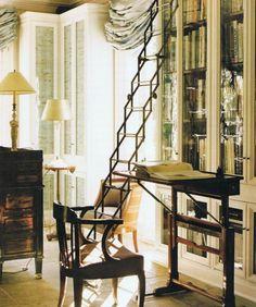 Library ladder, Sephen Sills